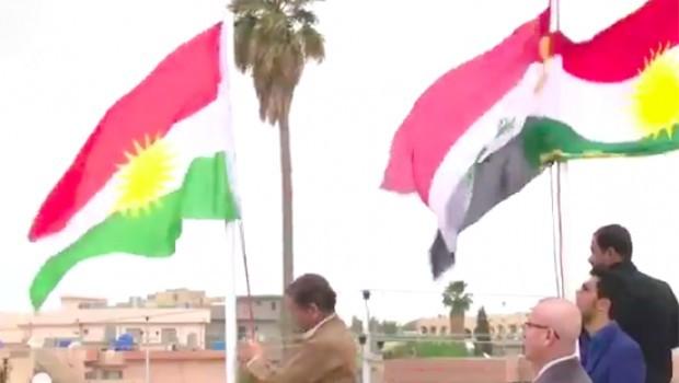 PDK'den İran'a Kürdistan bayrağı tepkisi!