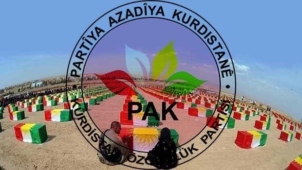 PAK: Enfal Şehitlerine Kürdistan'ın Bağımsızlığı Müjdesini Verelim