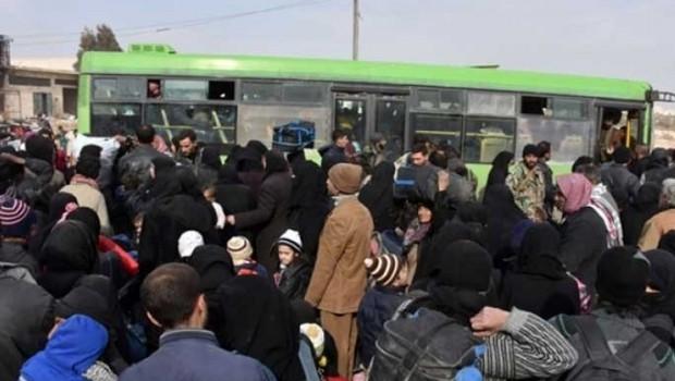 Suriye'de 30 bin kişi tahliye ediliyor