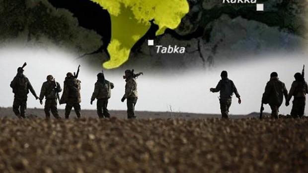 Suriye Demokratik Güçleri Tabka'ya girdi