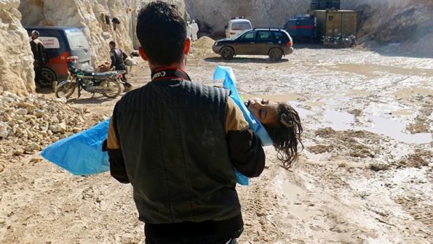 İdlib'te Kimyasal gaz kullanıldığı kesinleşti