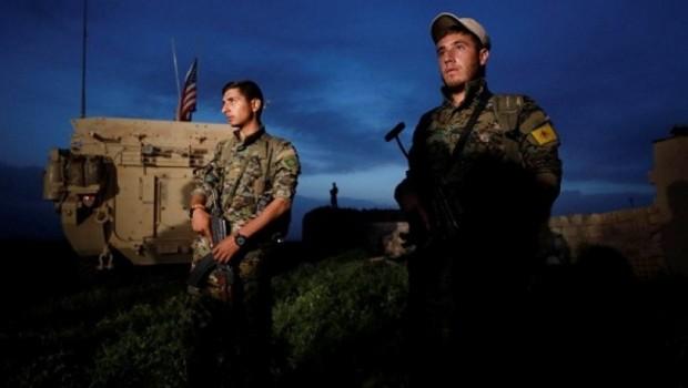 Rojava'da ABD askerleri ve YPG'liler nöbet tuttu