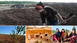 21. yüzyılda, Rojava'da erkeksiz, parasız hayal köyü