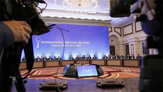 Suriyeli muhalifler Astana'da