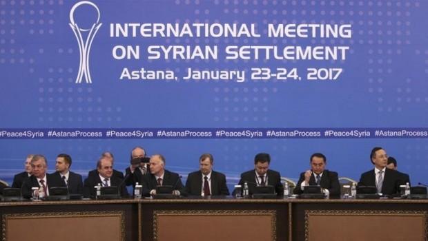 Astana görüşmeleri öncesi flaş gelişme