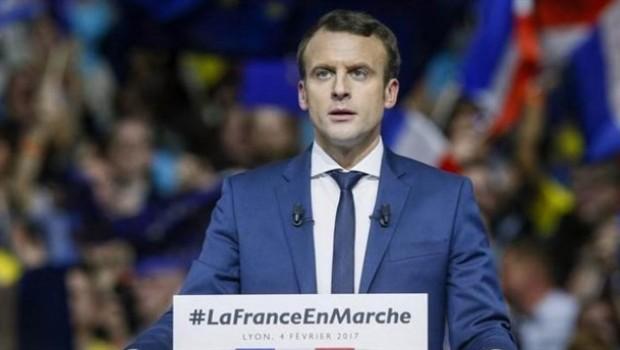 Fransa'nın yeni Cumhurbaşkanı Macron oldu