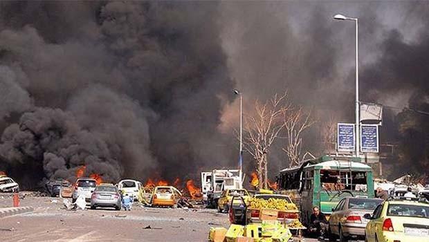 Şam'da büyük patlama... Ölü ve yaralılar var