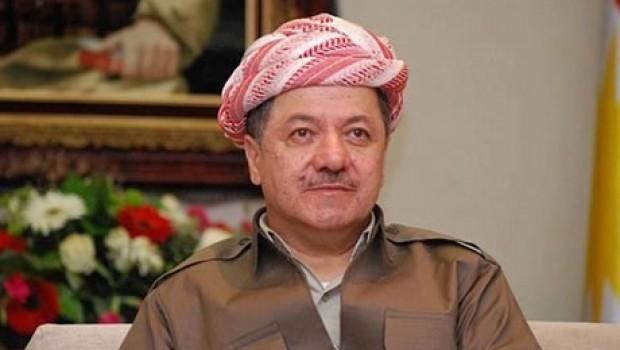 Başkan Barzani'den Macron'a kutlama