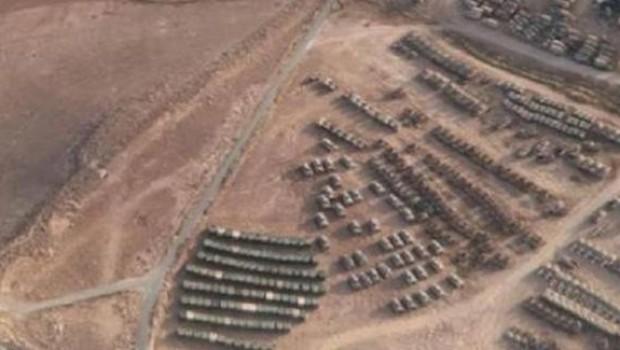 ABD'den Suriye'nin batısına kafa karıştıran yığınak