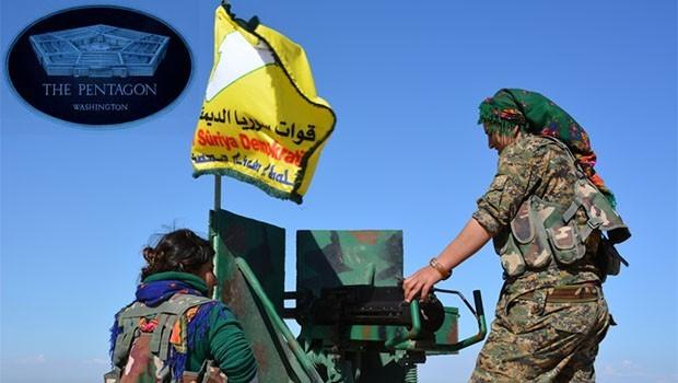 Pentagon 'QSD'ye silah' iddiasını doğruladı