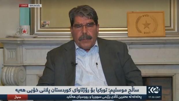 Salih Müslim: ABD direkt Kürtlerle işbirliği yapmak İstiyor