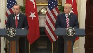Trump ile görüşen Erdoğan'dan YPG tepkisi