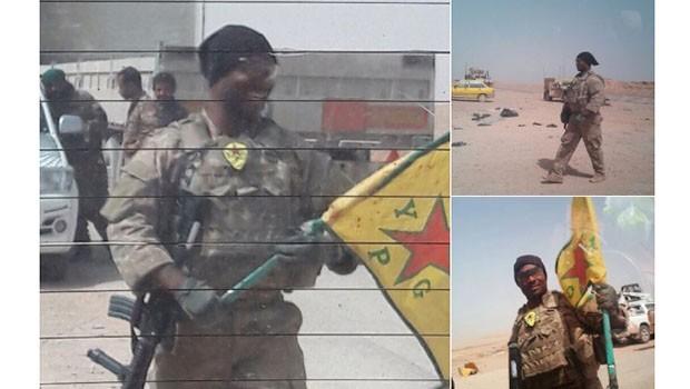 YPG flamasıyla poz veren ABD'li asker sosyal medyada yankı buldu