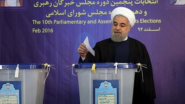 İran Cumhurbaşkanlığı seçimlerini Ruhani kazandı