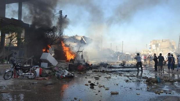 Suriye'de intihar saldırısı: 20 ölü