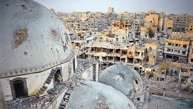 Humus kenti Esad güçlerinin kontrolüne geçti