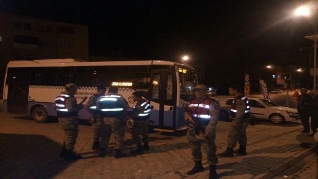 Malatya'da özel halk otobüsüne silahlı saldırı