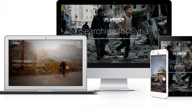 Google ve BM'den Suriye'ye özel site