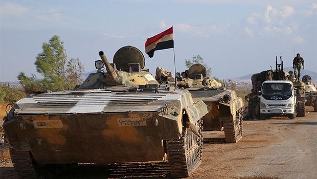 Suriye ordusu Ürdün sınırında 70 km'lik alanı ele geçirdi