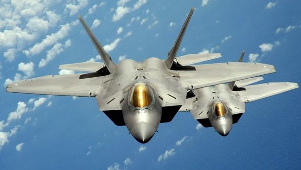 ABD'nin Suriye operasyonunda F-22 detayı