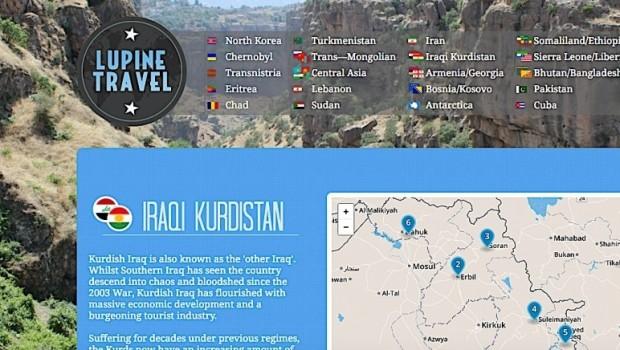 Ünlü Turizm şirketi'den Kürdistan turu; Yeryüzündeki cennet