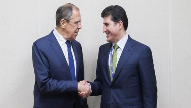 Başbakan Barzani, Moskova'da Lavrov ile bir araya gelecek
