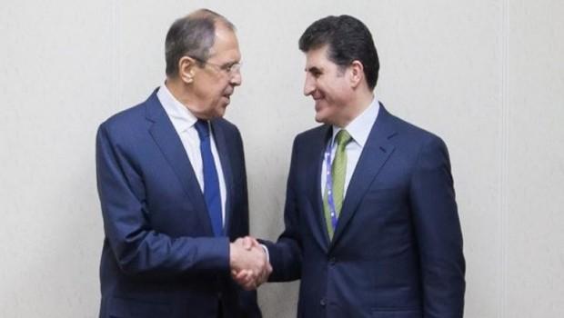Başbakan Barzani ve Lavrov, 'Musul'u konuşacak