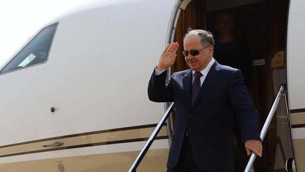 Başkan Mesud Barzani yurda döndü