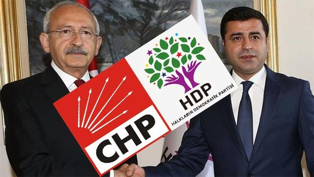 Sabah yazarı: CHP, HDP'yi Kürt ayağı yapma çabasında