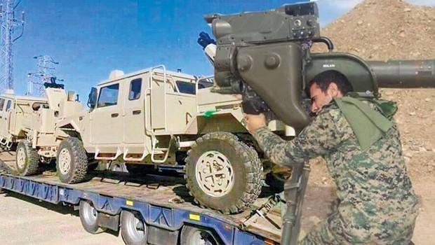 ABD'den YPG'ye üçüncü silah yardımı