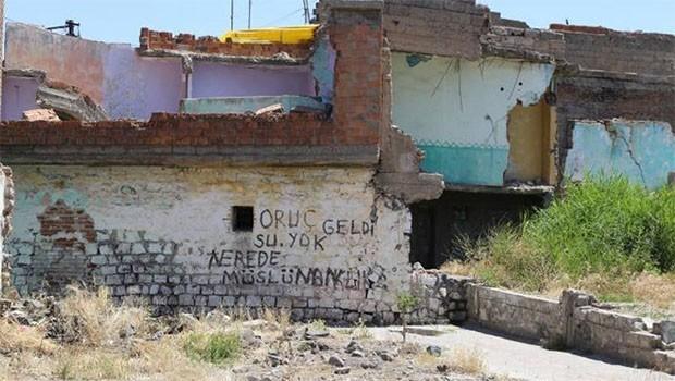 Sur halkı Ramazana 'Su'suz girdi