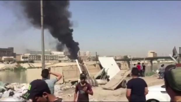 Bağdat'ta ikinci patlama!