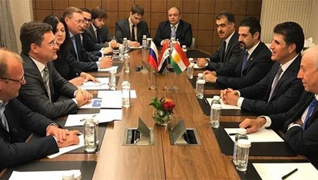 Başbakandan Ruslara Kürdistan'a yatırım daveti