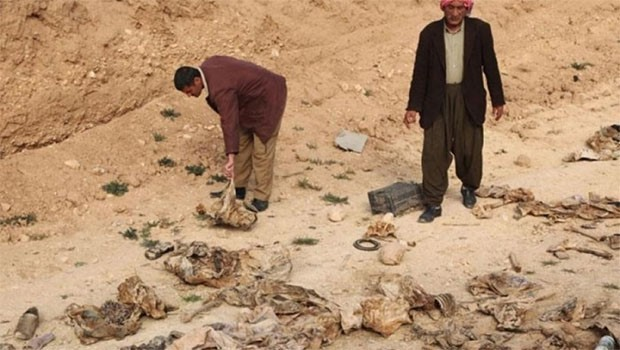 Şengal'de 3 toplu mezar daha
