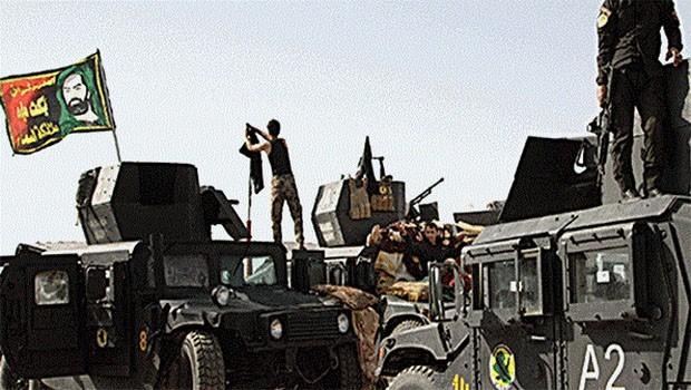 Haşdi Şabi'den Hawice sınırına güç takviyesi