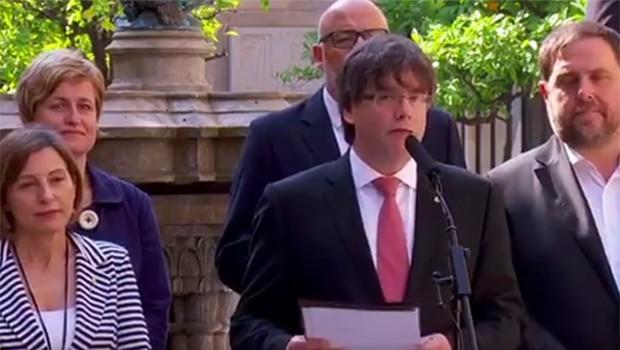 Bir bağımsızlık referandum tarihide Katalonya'dan