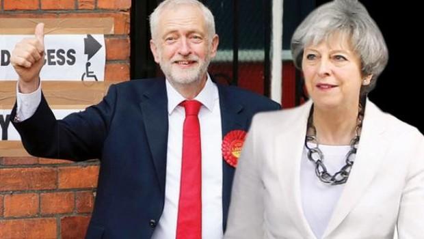 İngiltere Başbakanı May erken seçim kumarını kaybetti