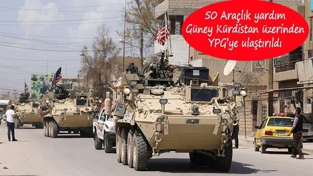 ABD'den YPG'ye yeni yardım..