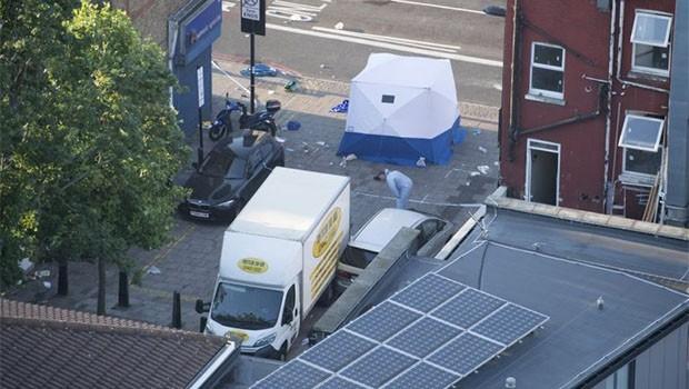 Londra'da kamyonetli saldırı