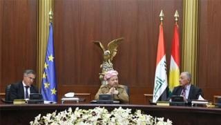 Başkan Barzani'den AB'ye çok önemli mesajlar!
