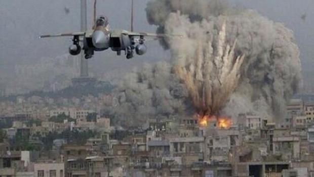 Suriye'de hava saldırısı: en az 30 ölü
