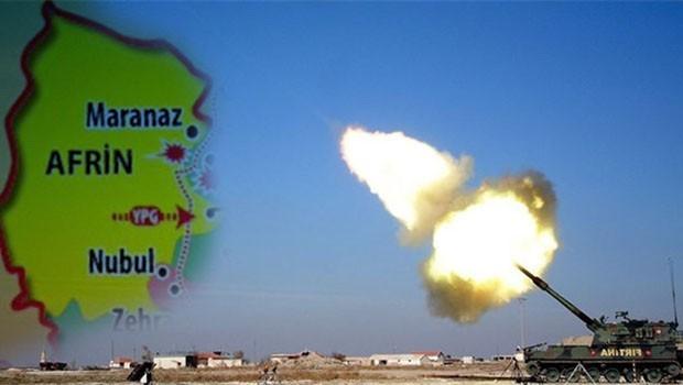 Efrin bombardımanı bir kara harekâtı hazırlığı mı?