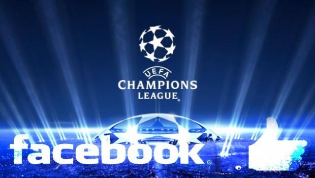 Şampiyonlar Ligi maçları Facebook'tan yayınlanacak