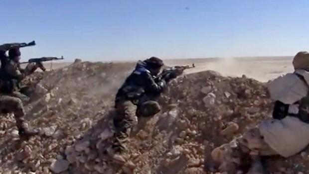 Rakka'da IŞİD'den karşı saldırı
