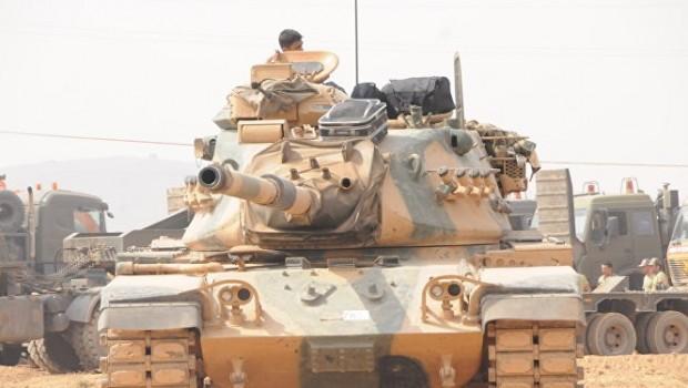 Efrin operasyonuna Şam desteği