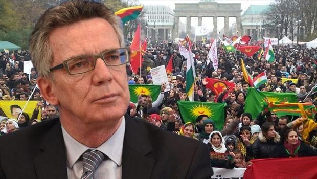 Almanya: PKK ve sembollerine asla izin yok