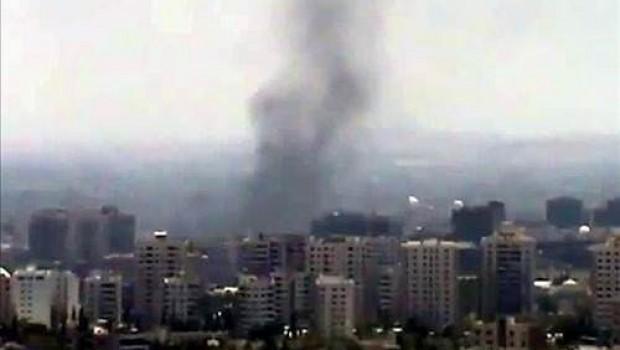 Şam'da intihar saldırıları