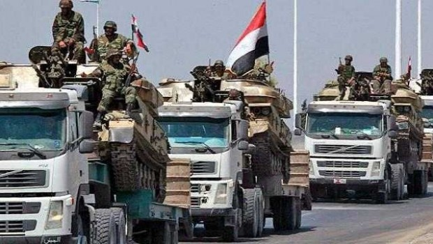 Suriye ordusu, ABD destekli güçleri Irak sınırından çıkarmaya hazırlanıyor