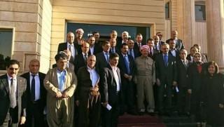 Kürdistan'da Başkan Barzani önderliğinde ilk Referandum toplantısı