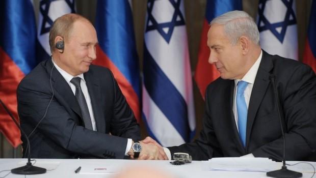 Putin ile Netanyahu Suriye'yi görüştü
